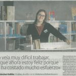 Empleo con Apoyo en la Biblioteca Rafáel Azcona