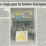 Nota Prensa: Un viaje por Europa