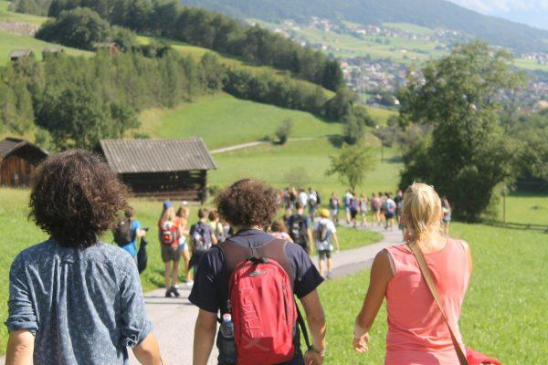 Excursión en el campamento de Austria.