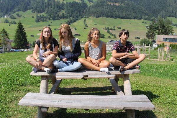 Participantes campamento de Austria.
