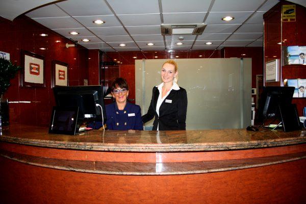 Practicas profesionales en hotel.